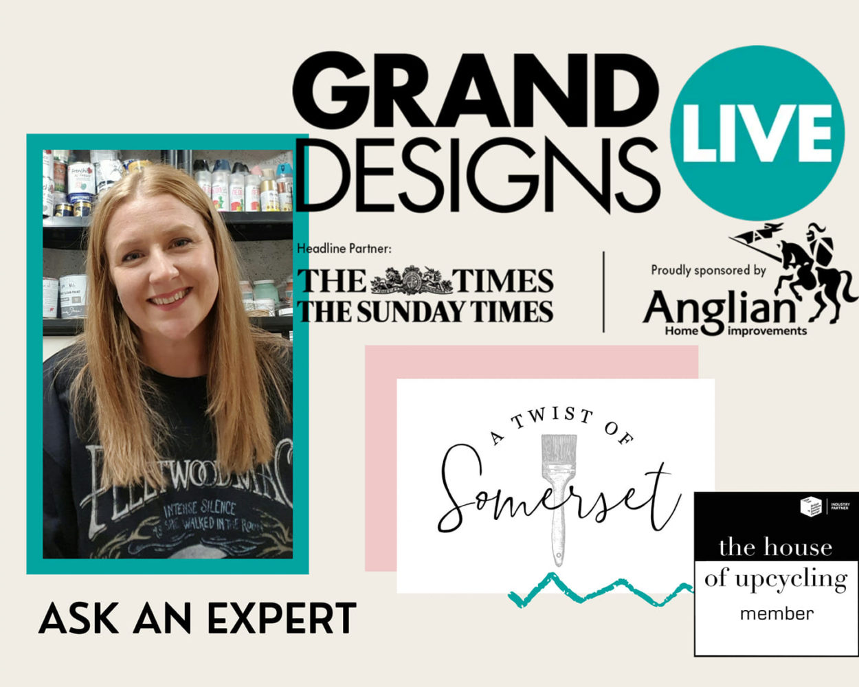 Lisa White Grand Designs Live
